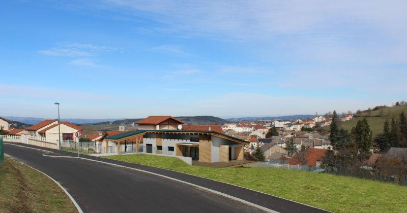 Fanget Fiard Architectes - Maison individuelle Picq - Yssingeaux - Haute Loire
