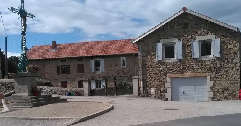 Fanget Fiard Architectes - Transformation d'une grange - Beaux - Haute Loire