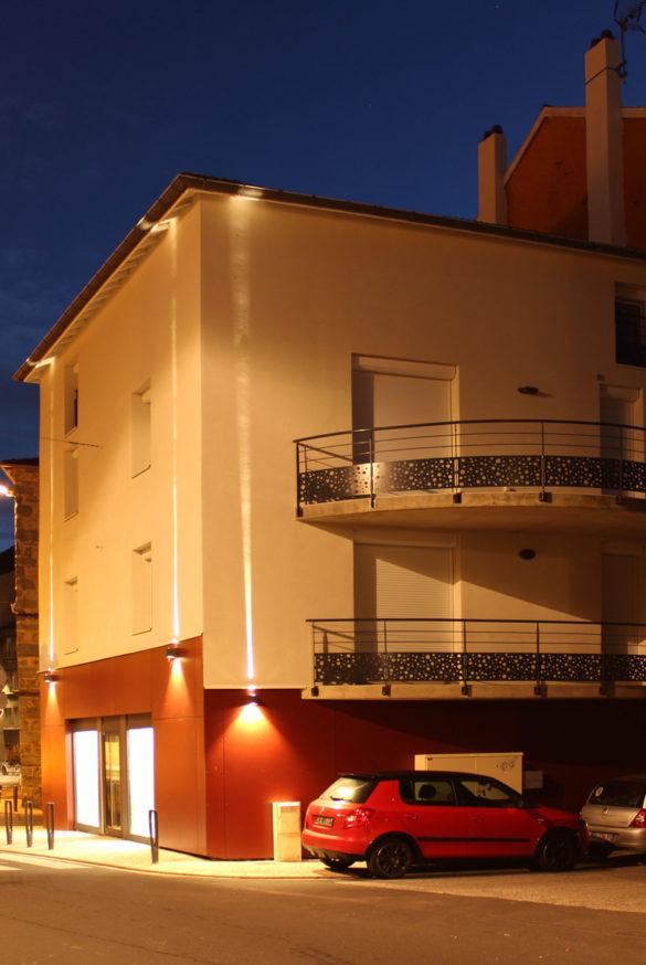 Immeuble commercial et locatif à Yssingeaux