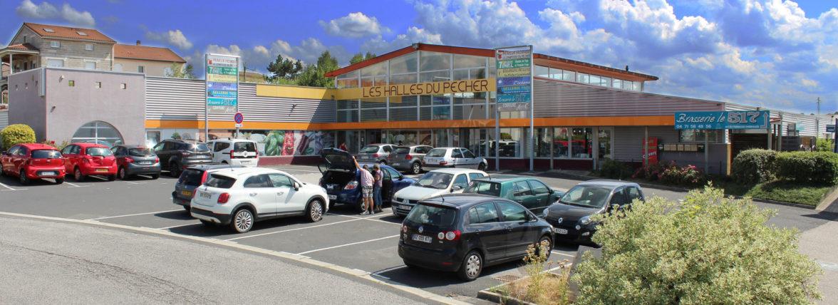 Bâtiment commercial à Monistrol sur Loire