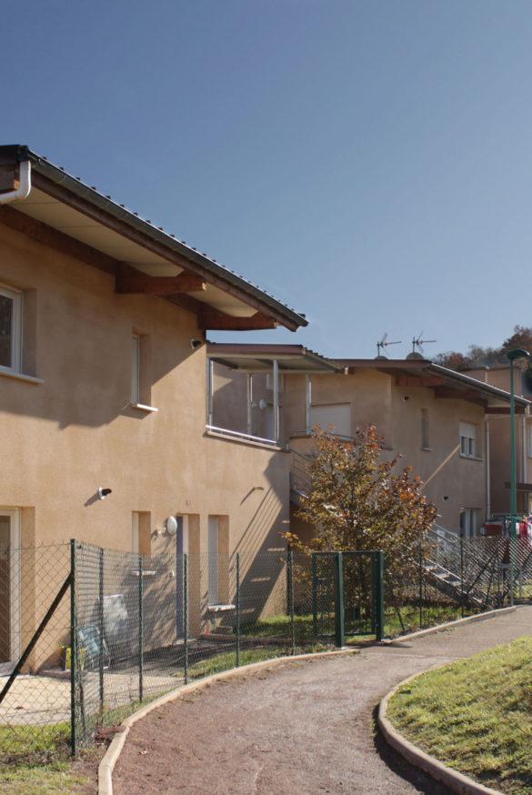 Logements locatifs à La Champ du Cros, à Coubon ( 43)