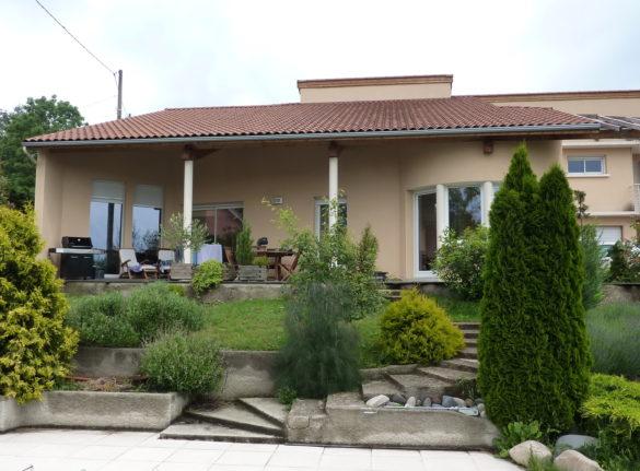 Architectes Fanget Fiard, maison individuelle en Haute-Loire 43